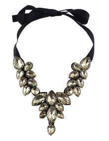 Champagne Drop Gemstone Necklace