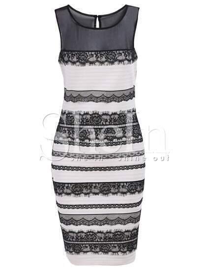 Ivory Sleeveless Monteau Tahari Lace Bodycon Dress