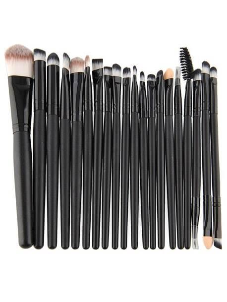 Image of Professional Makeup 20pcs Brushes Set Powder Foundation Eyeshadow Eyeliner