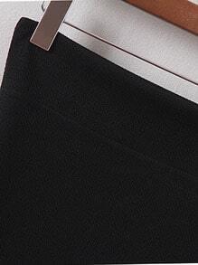 Black Bodycon Mini Skirt