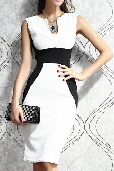 http://www.shein.com/White-Black-Sleeveless-Slim-Bodycon-Dress-p-206421-cat-1727.html?aff_id=3407