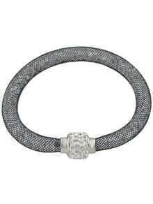 Grey With Diamond Bracelet