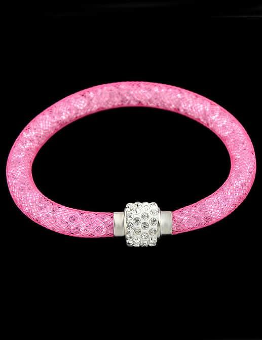 Rose Red With Diamond Bracelet