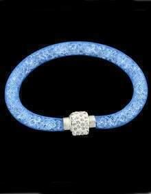 Blue With Diamond Bracelet