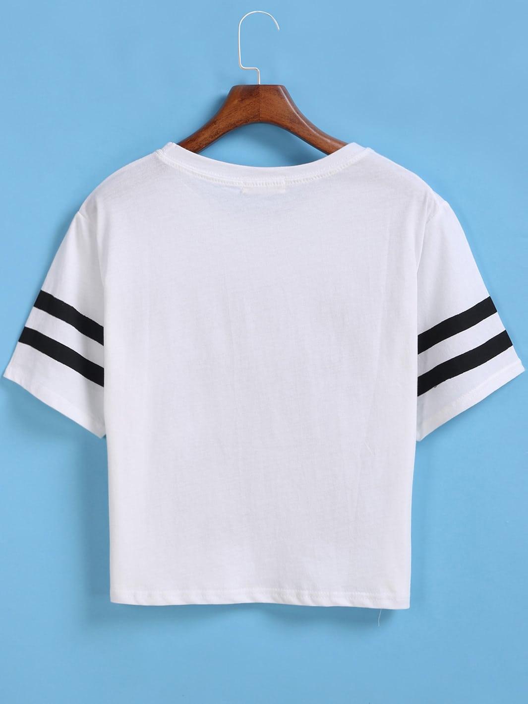 White t shirt crop top - White T Shirt Crop Top 26