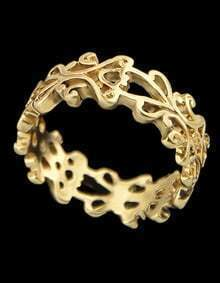 Gold With Hollow Ring