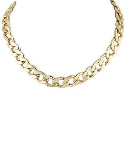 Best Seller Gold Plated Simple Chain Necklace pictures