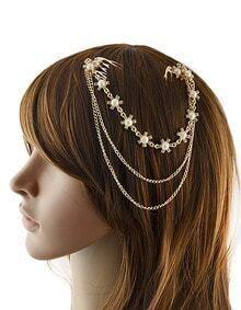 Gold Plated Hair Accessories