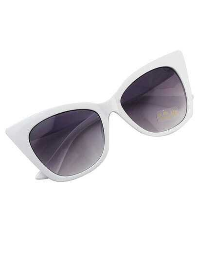 White Color Cat Sunglasses