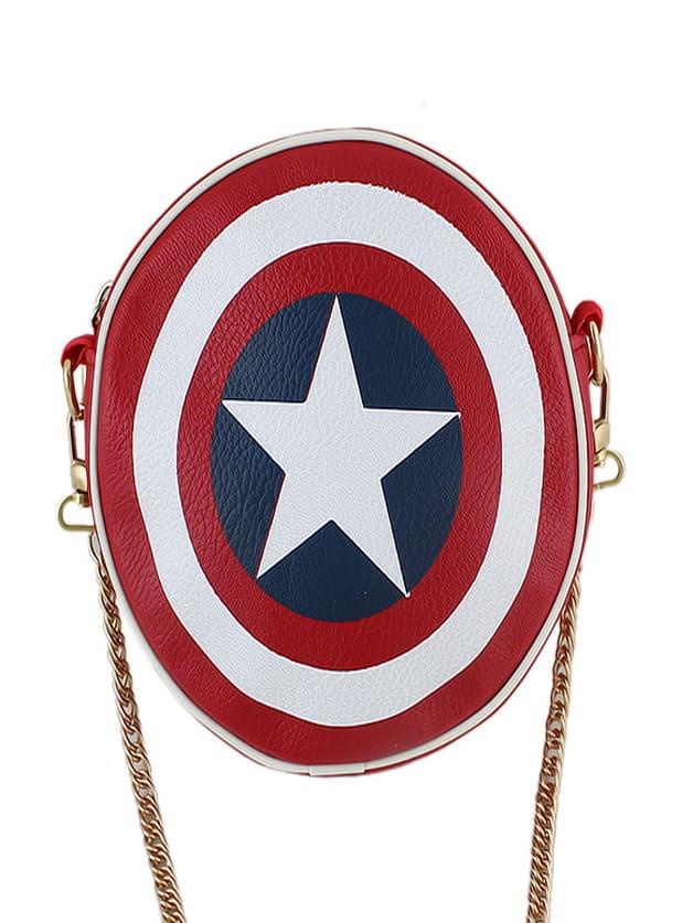 Фото Cute PU Leather Round Shaped Bag. Купить с доставкой