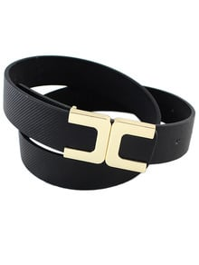 Wide Dressy Elastic Belt