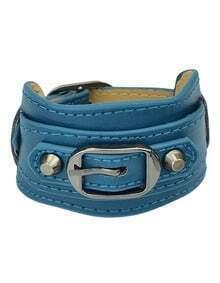 Latest Design Wide Women Mix Color Leather Bracelet
