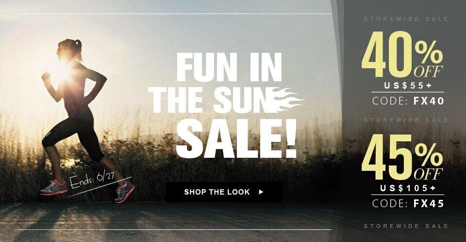 Fun in the Sun Sale!