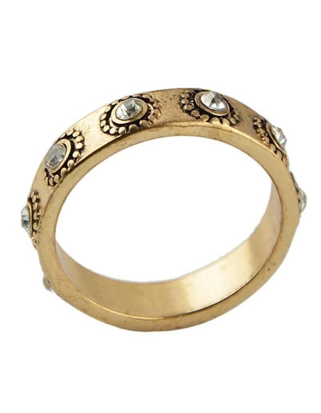 antique gold simple women vintage ring sheinsheinside