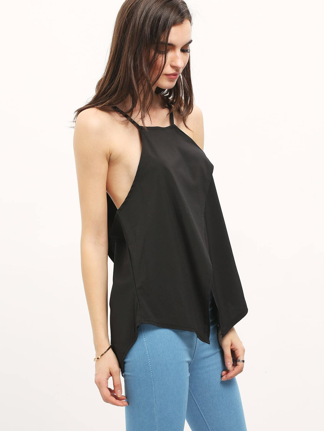 Under a favorite hoodie or with a cardigan, there's always room for a tank. Ours features a long, layerable silhouette with adjustable straps and a bit of spandex for stretch.