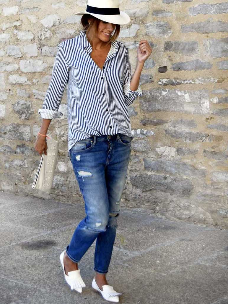 Модная блузка