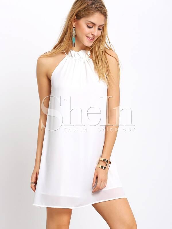 High Neck Shift Dresses