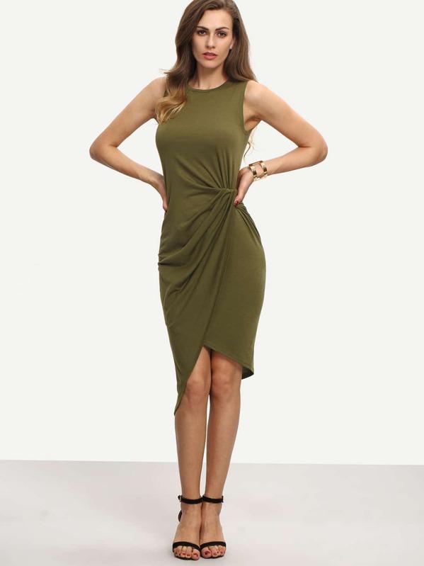 Vestidos verdes militar