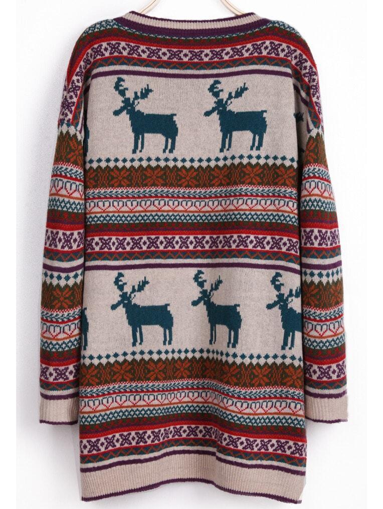 Fair isle christmas sweater