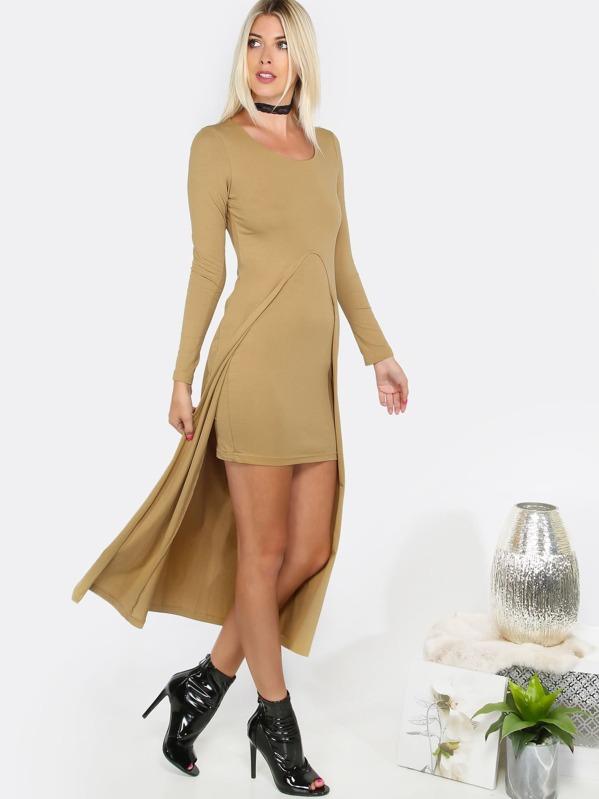 Open Top Mini Dress