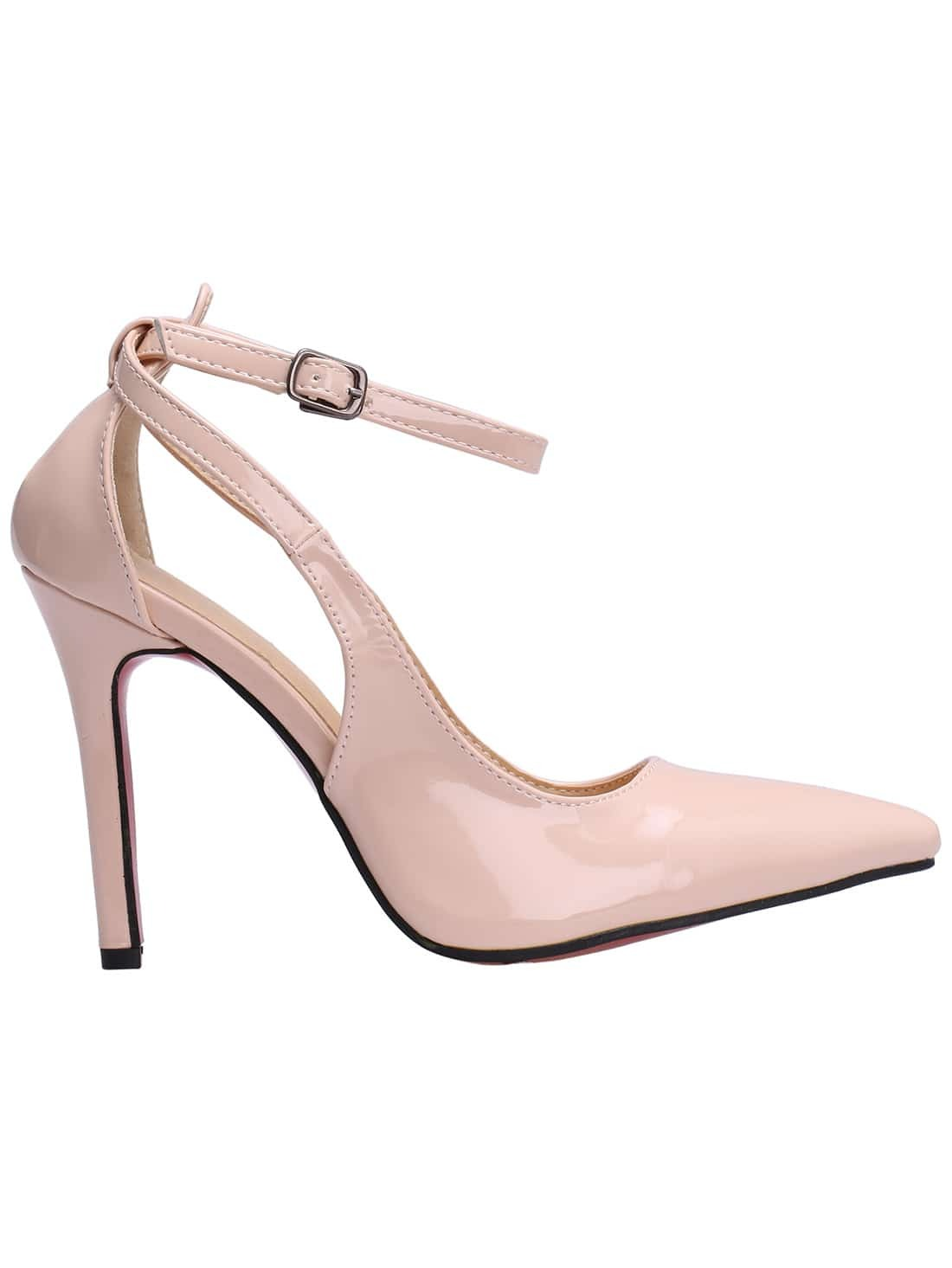 Nude pumps with ankle strap galleries 51
