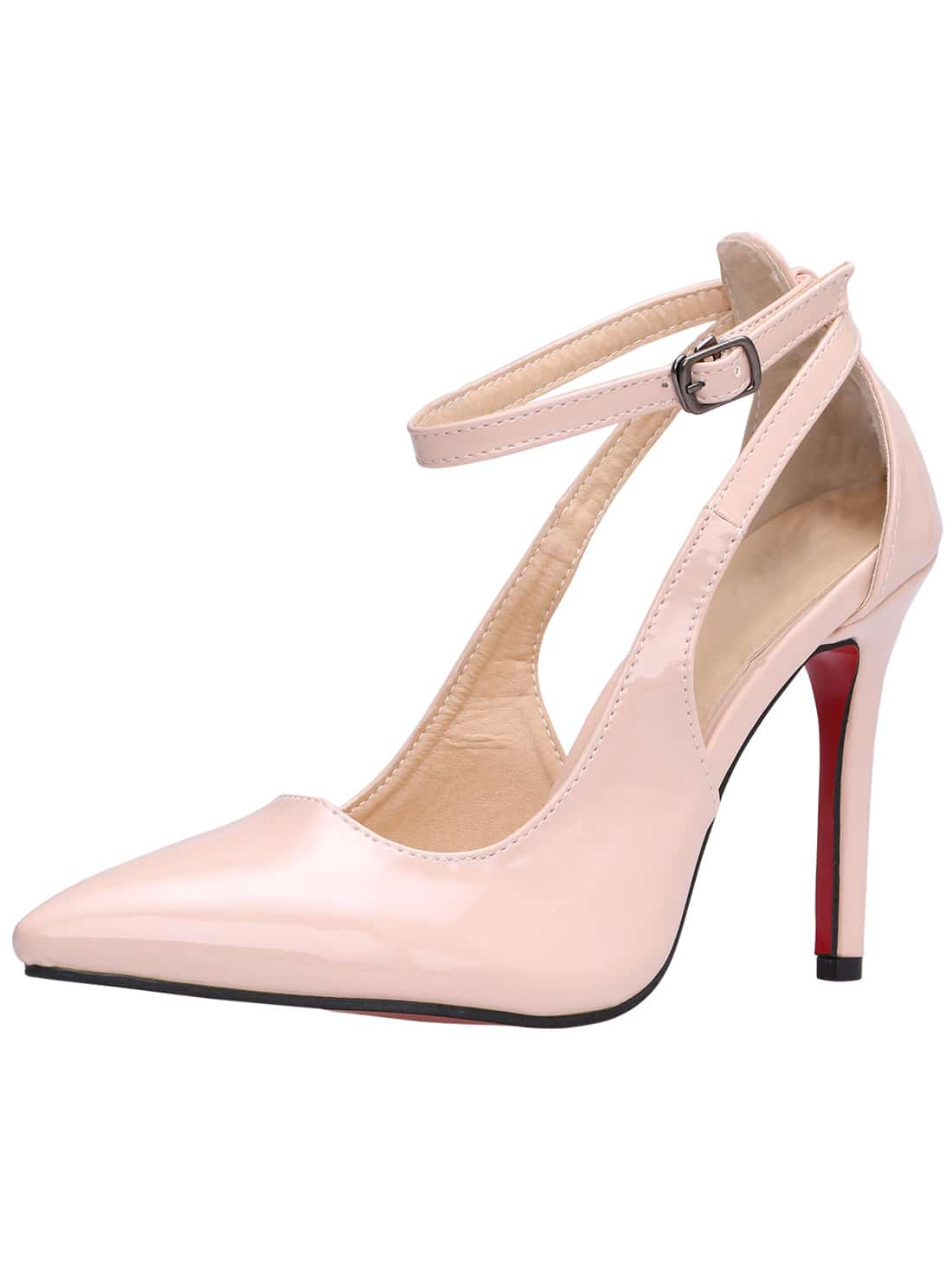 Nude pumps with ankle strap galleries 78