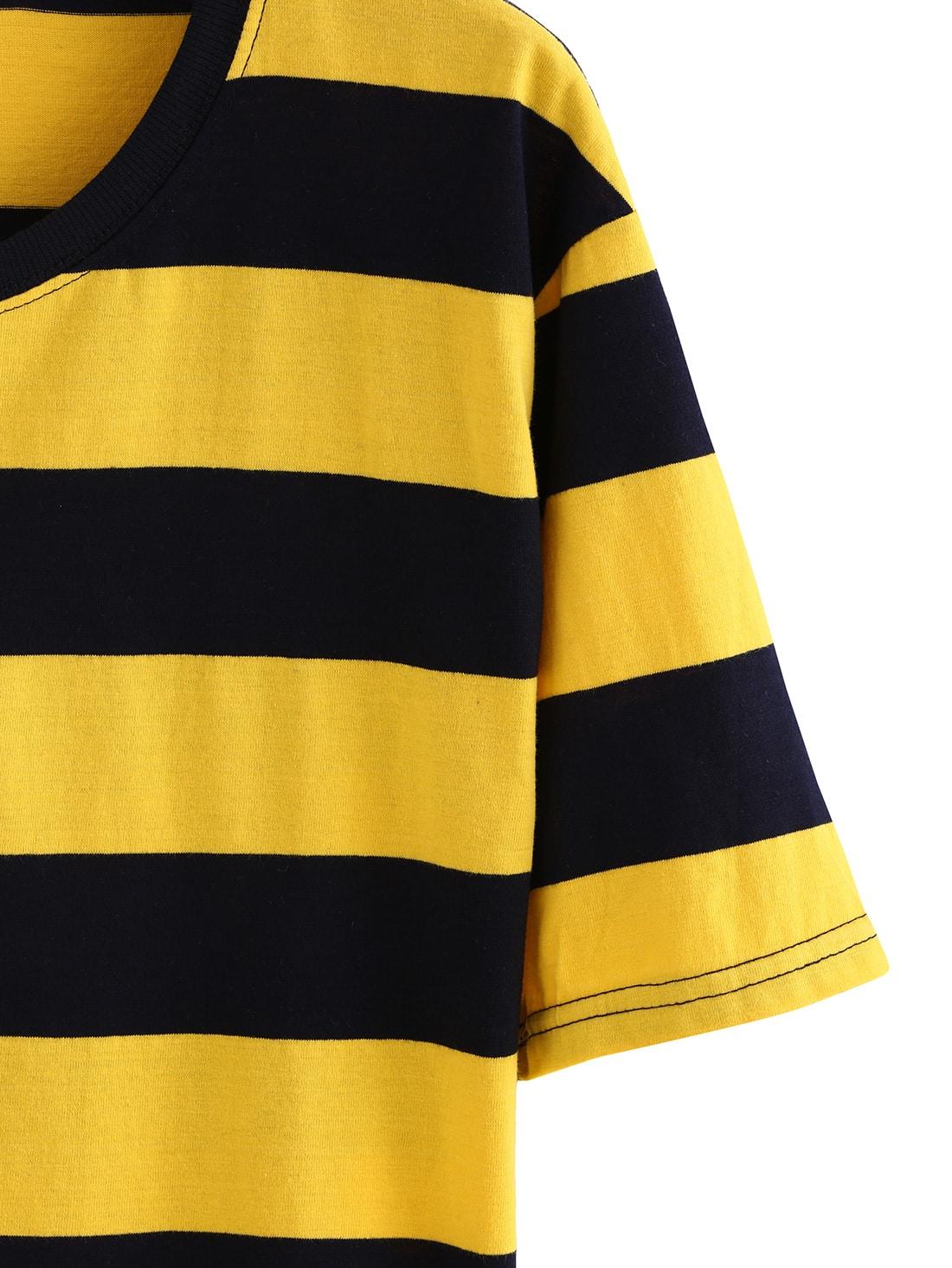 Amazones: camiseta rayas negras y amarillas