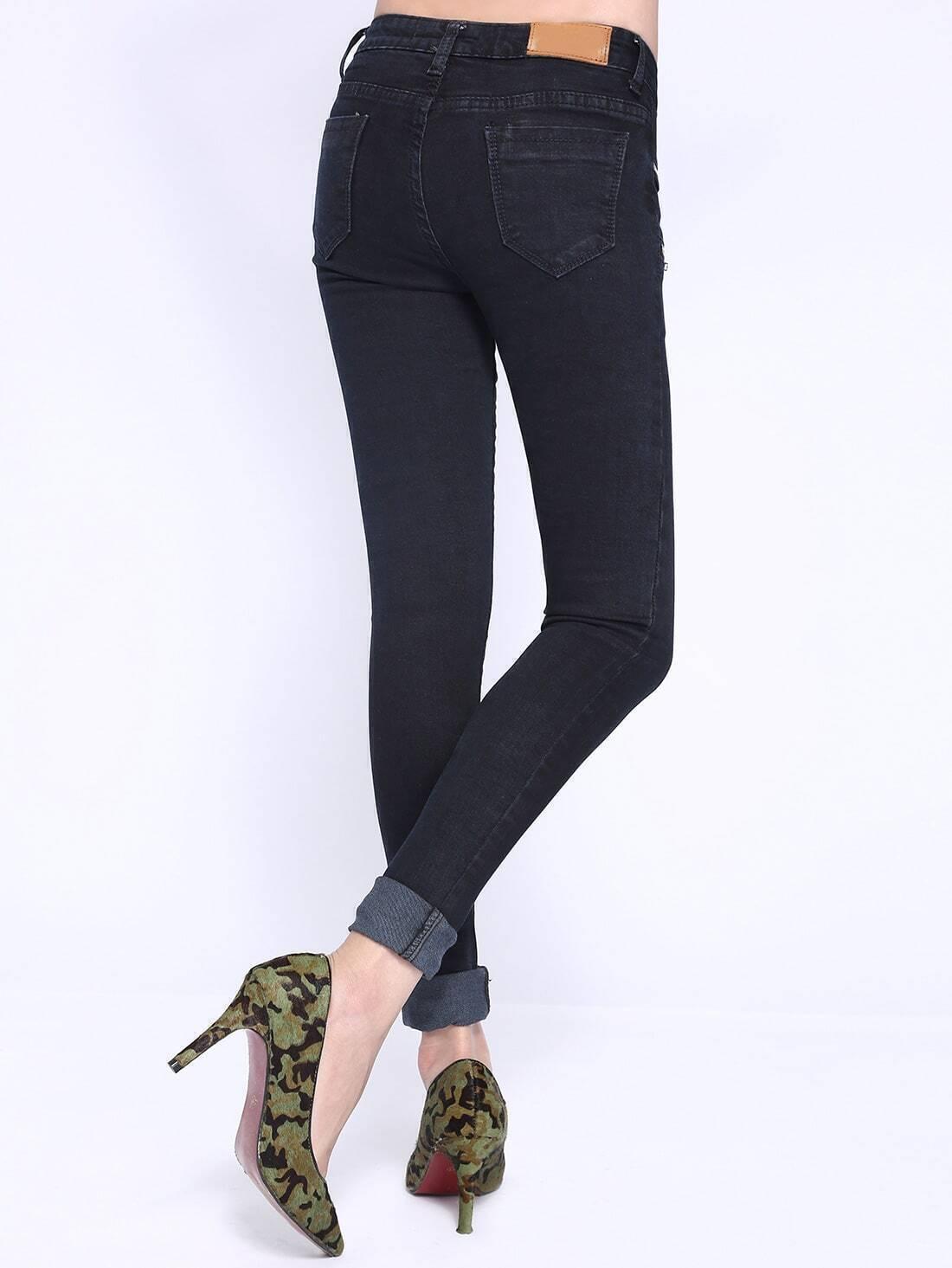 Обтягивающие джинсы доставка