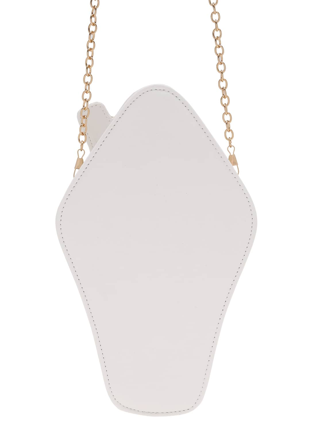 White Ice Cream Shaped Chain Shoulder Bag Shein(sheinside. Greek Necklace. Paw Pendant. Yellowish Brown Diamond. Bead Chains. Wholesale Body Jewelry. Sand Dollar Necklace. Tiger Pendant. Gold Diamond Bands