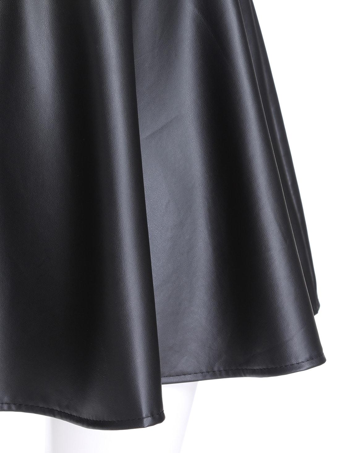 Jupe taille élastique noire