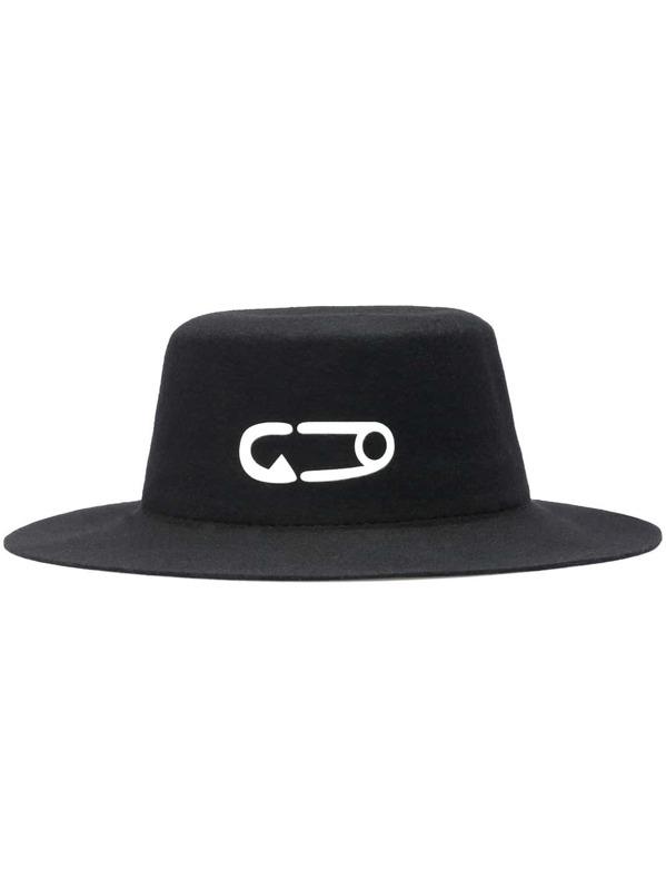 d2236a21dddcfe Cheap Black Pin Print Round Hat for sale Australia | SHEIN