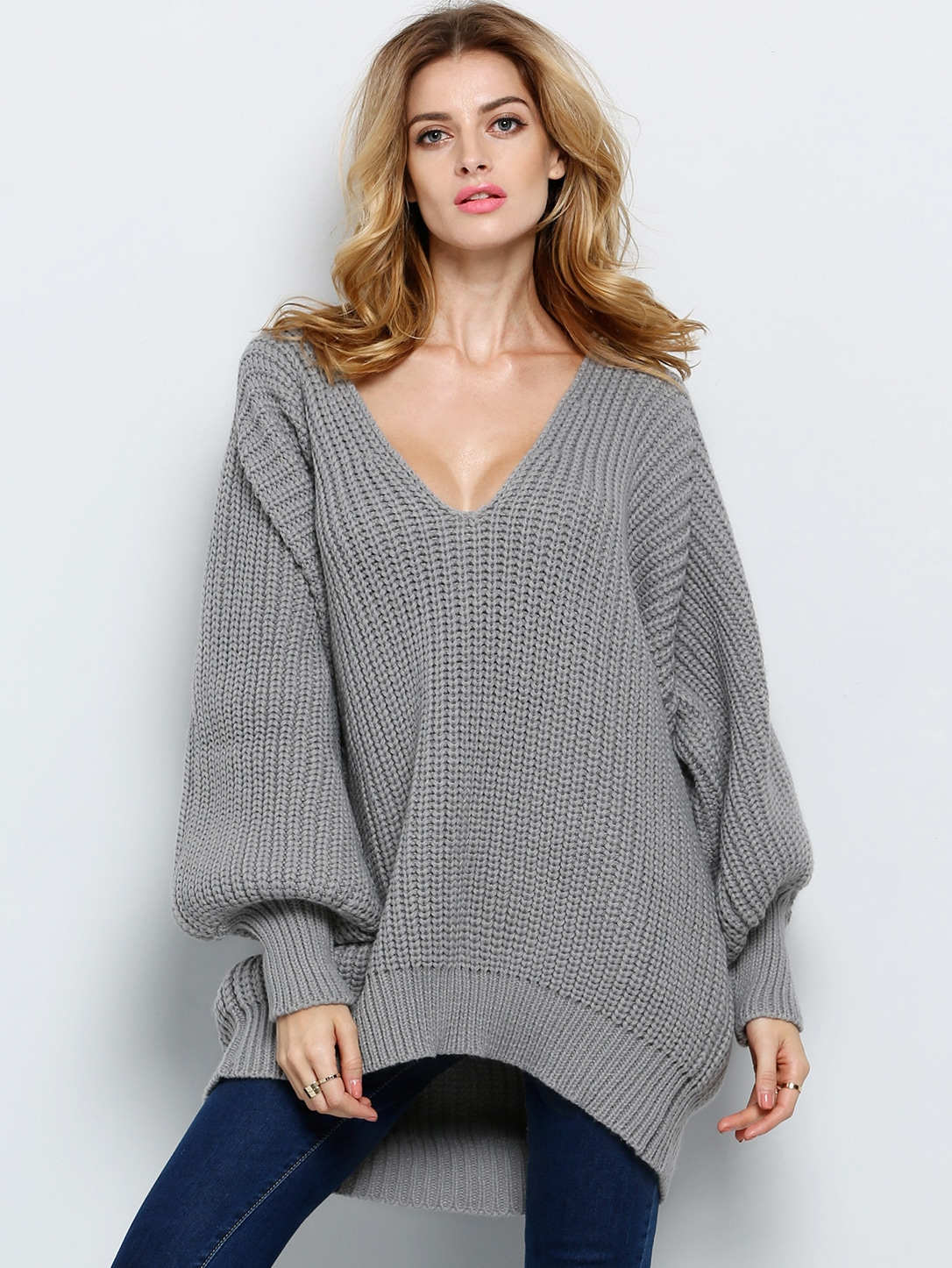 Loose Knit Cropped Jumper - Just $6