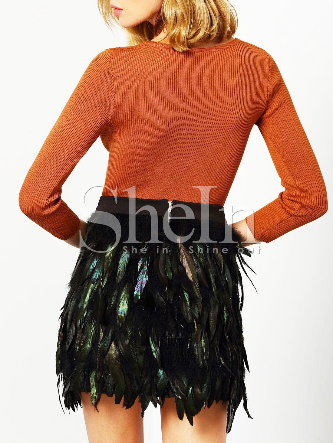 730e9e830 Venta De Faldas De Plumas Online   Wig Elegance