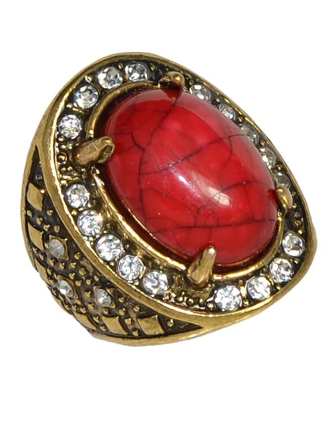 simple big gemstone ring shein sheinside