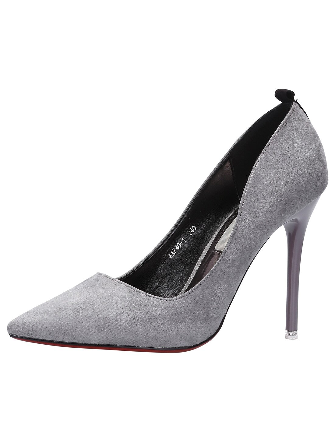 Silver Pumps. Get ready to make a fashionable impression with Gray Heels from Kohl's! Whether you're looking for a new pair of shoes for work, or preparing for a fancy formal occasion, our selection of Gray Pumps offers just what you need to add a new dimension to your wardrobe.