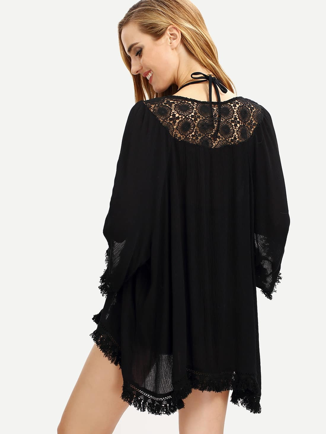 Find great deals on eBay for black fringe kimono. Shop with confidence.