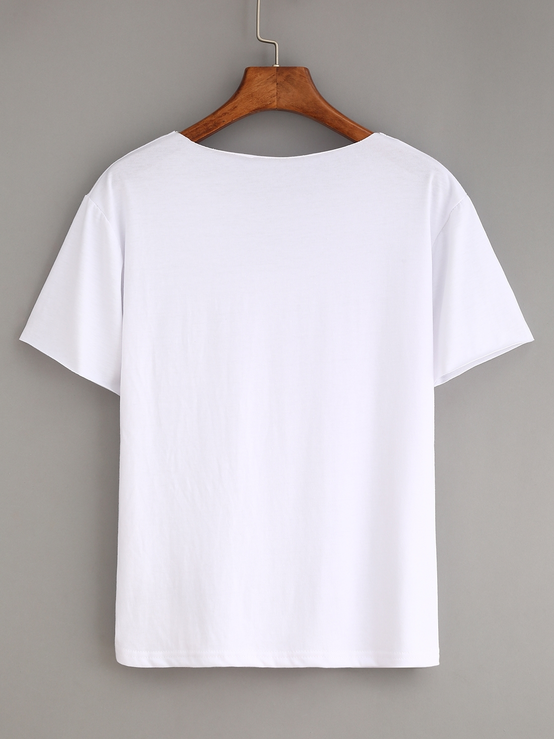 Plain White T Shirts
