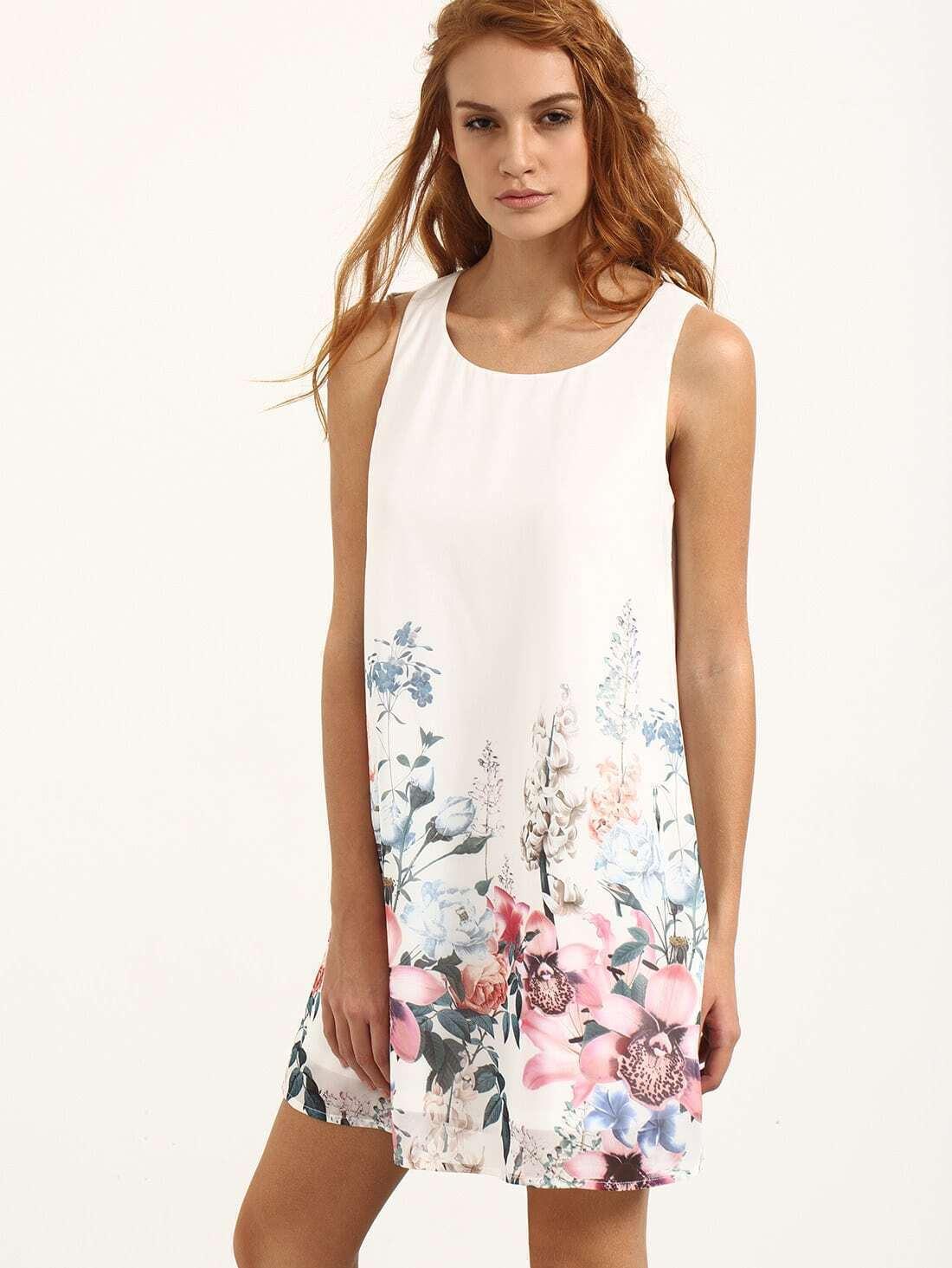 مدل لباس مجلسی با پارچه گلدار