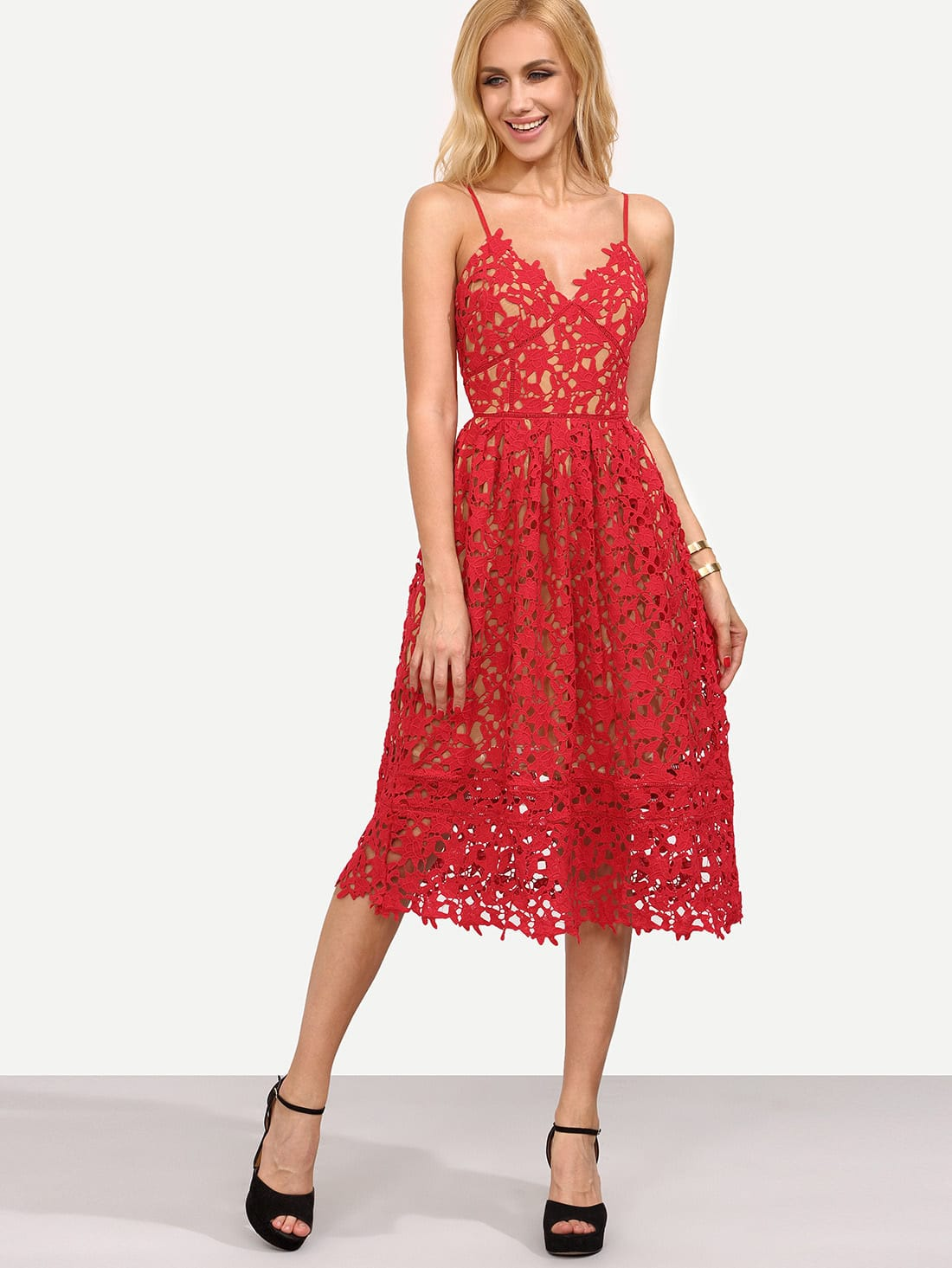 The Look For Less Self Portrait Sheer Lace Dresses