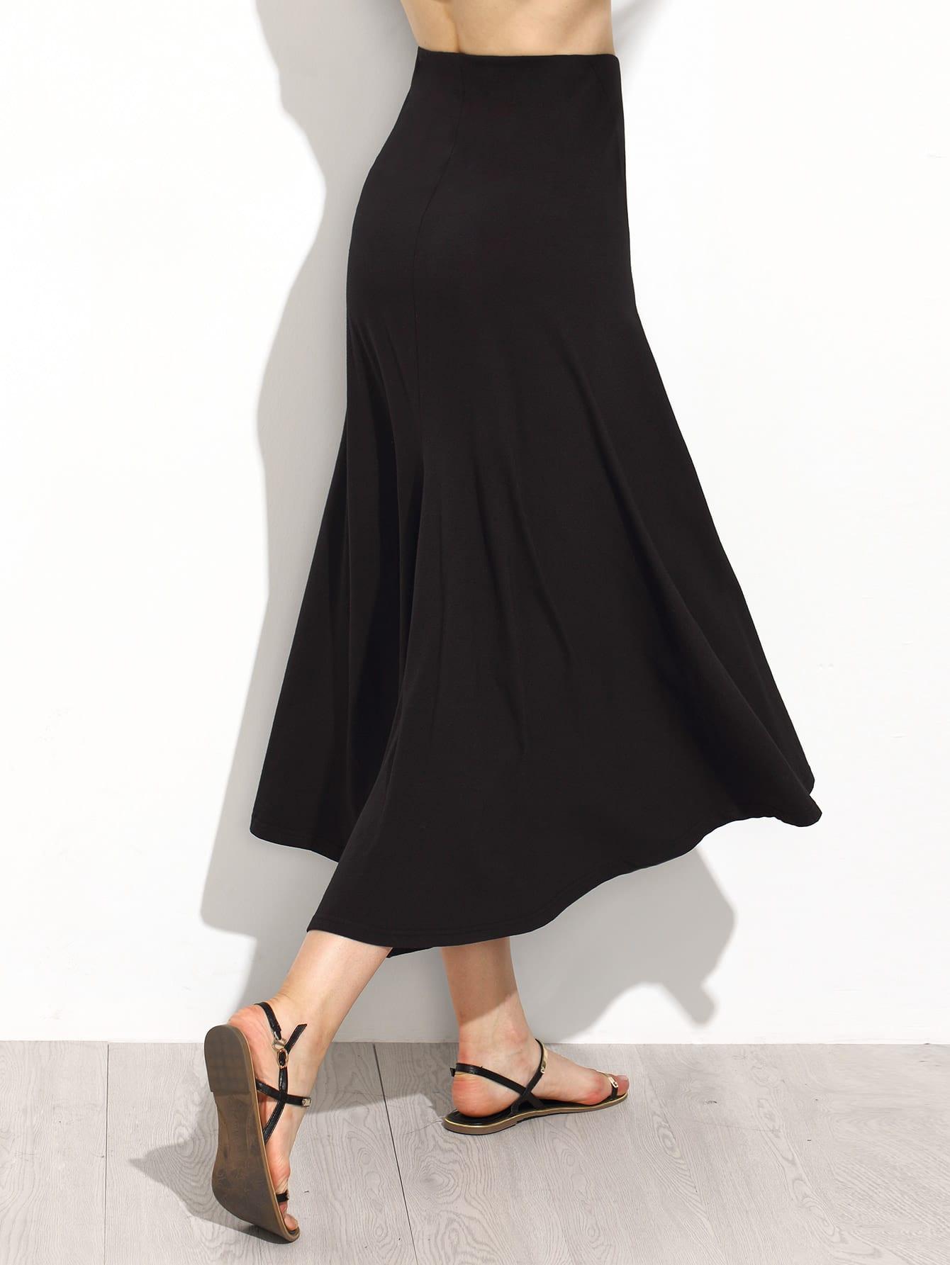 Skirt With Elastic Waist 119