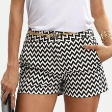 SHEIN | Pockets Button Fly Shorts | Goxip