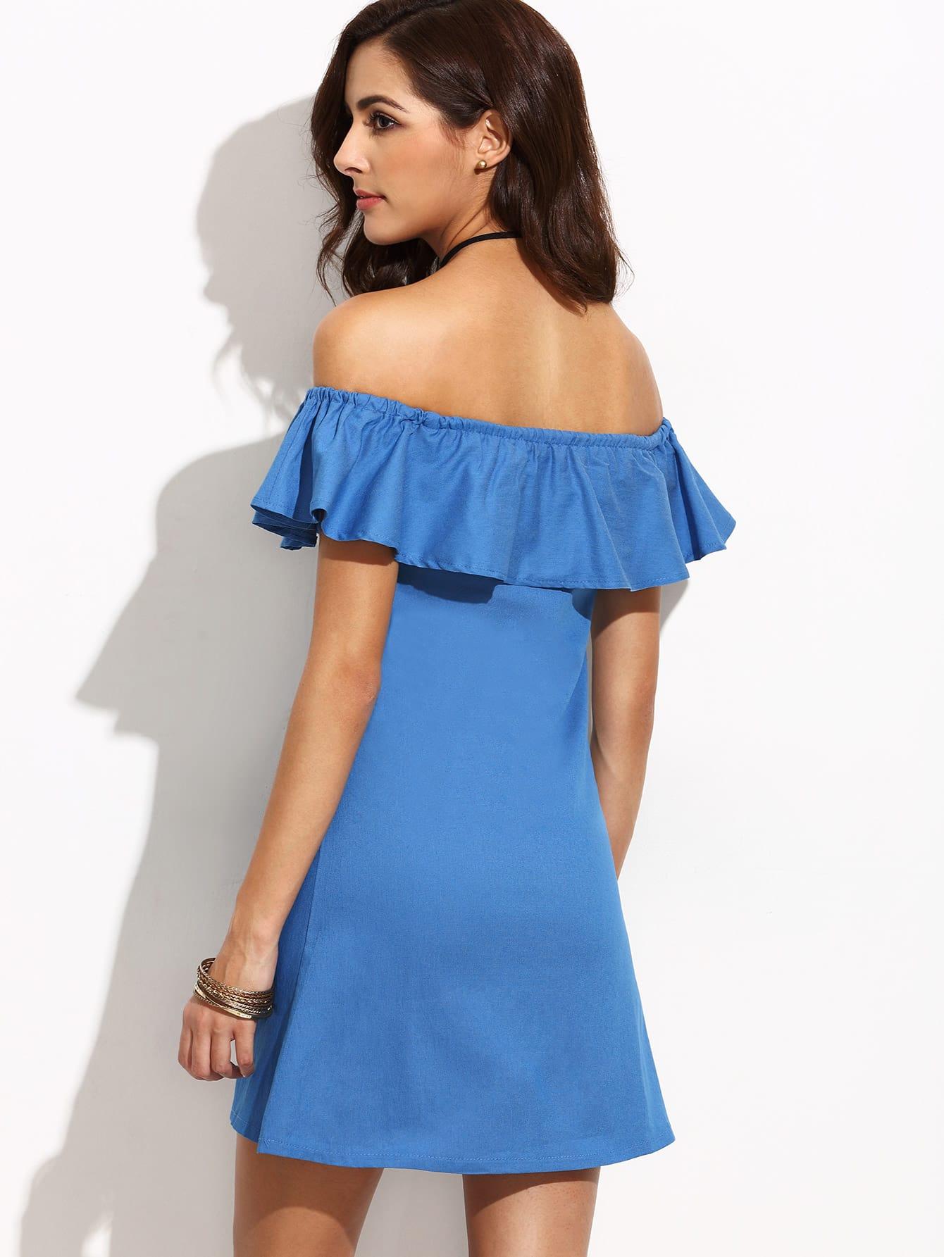 Off the Shoulder Dresses For Women-Us SheIn(Sheinside)