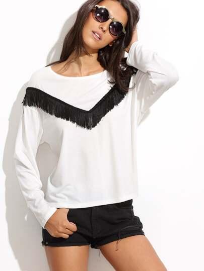 http://it.shein.com/White-Fringe-Trim-Long-Sleeve-T-shirt-p-298154-cat-1738.html