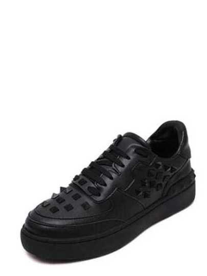 Zapatillas Plasticas Deporte Negro Con De Cordón X8O0nwPk