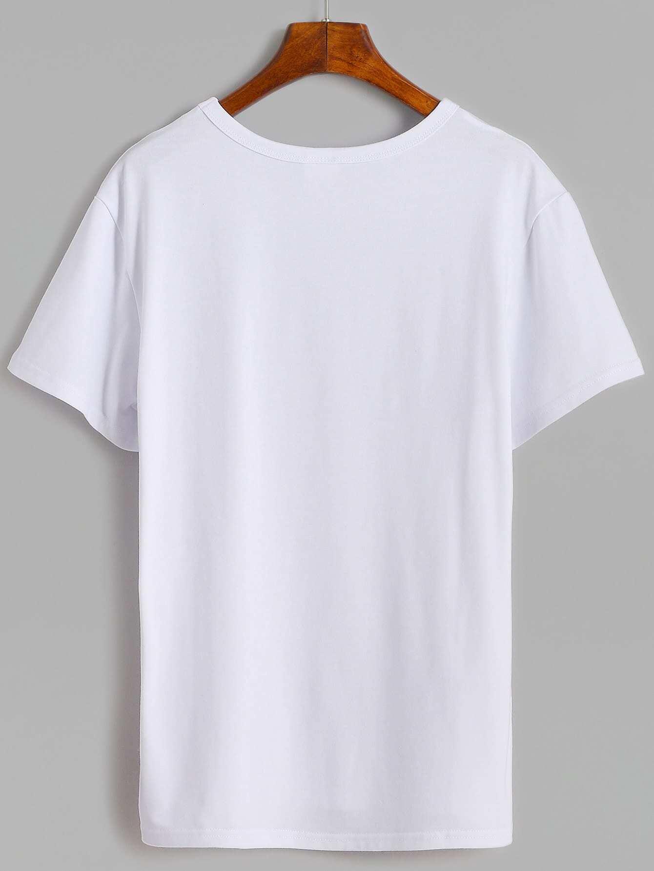 274aa365f3 Cactus Print T-shirt | SHEIN