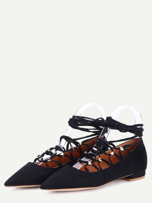 ea7d96455864 Women Calico Embroidered Denim Mule Flats -SheIn(Sheinside) SKU  shoes180509502 MVVPCMD