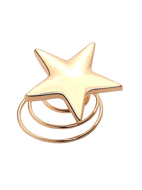 dedb6c41b6 Gold Star Spiral Hair Pin -SheIn(Sheinside)