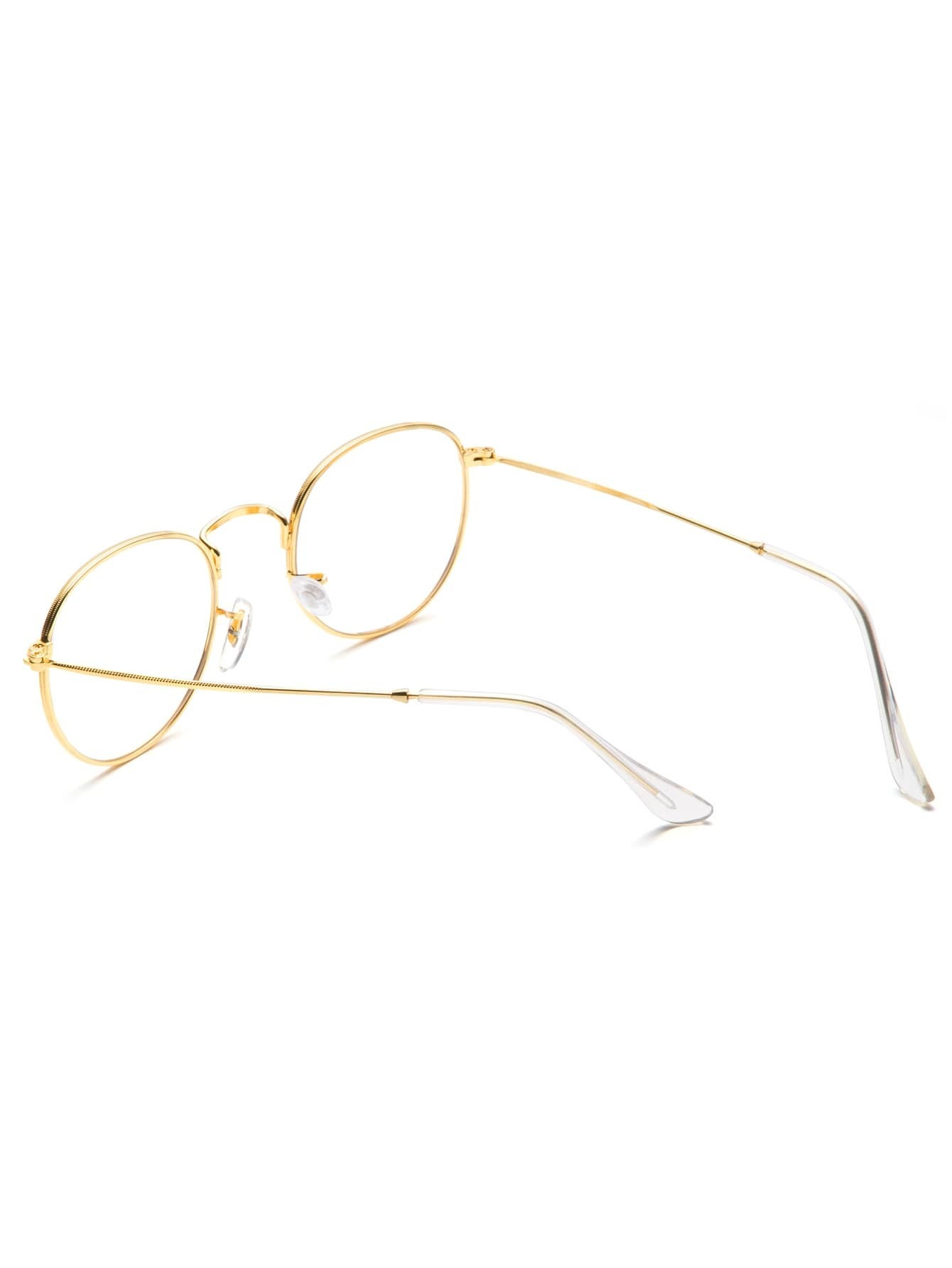gold frame clear lens glasses sunglass160909312_1 sunglass160909312_1 sunglass160909312_2 sunglass160909312_2 sunglass160909312_2