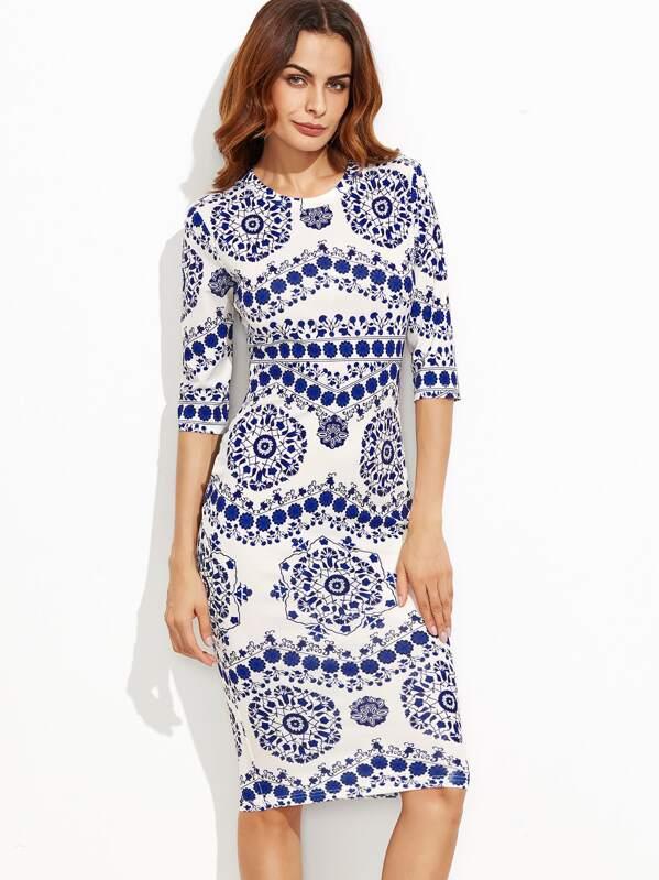 Werbung Kleid A Und C Weiss FTcuJ3l1K