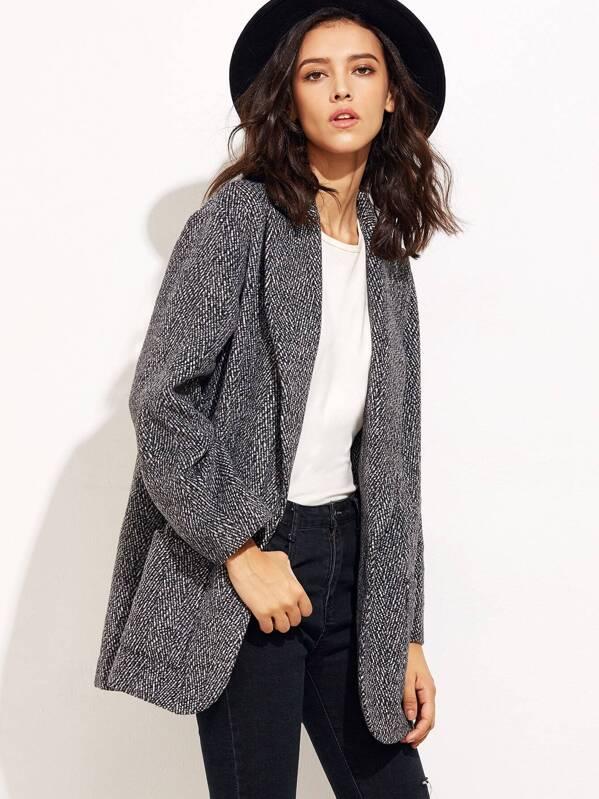 0448730bbd2f802 Модный пиджак в мужском стиле   SHEIN